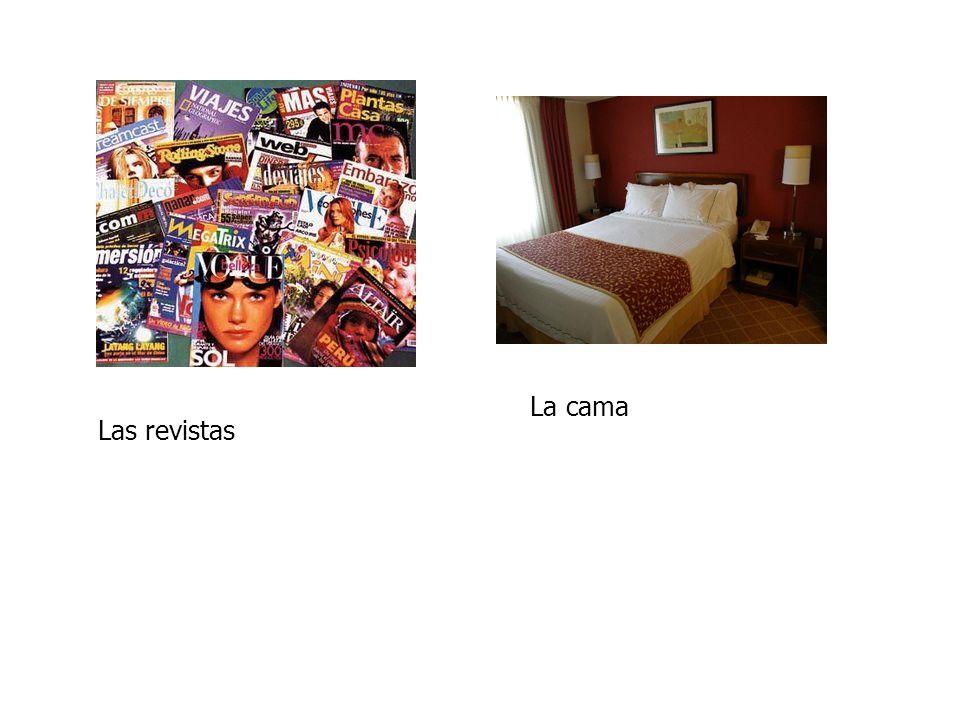 Las revistas La cama