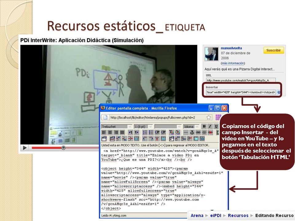 Recursos estáticos_ ETIQUETA