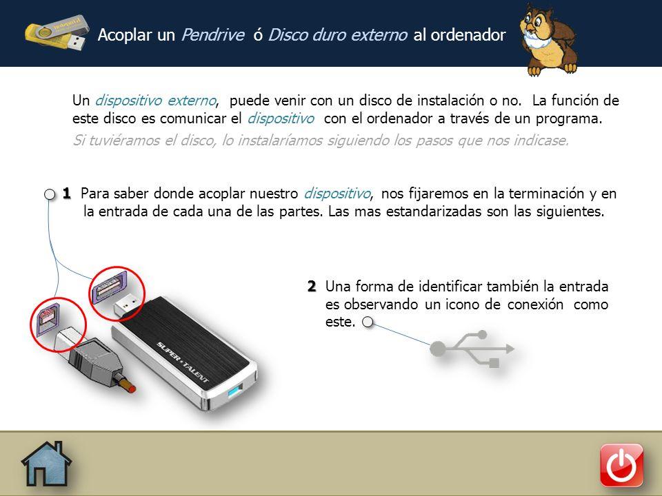 nivelinformatico 690 692 691 nivelinformatico @gmail.com Acoplar un Pendrive ó Disco duro externo al ordenador Como pasar archivos del Dispositivo al