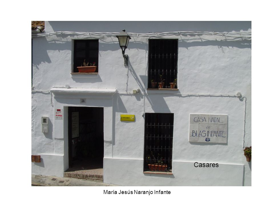 María Jesús Naranjo Infante Despacho simulado en la casa natal
