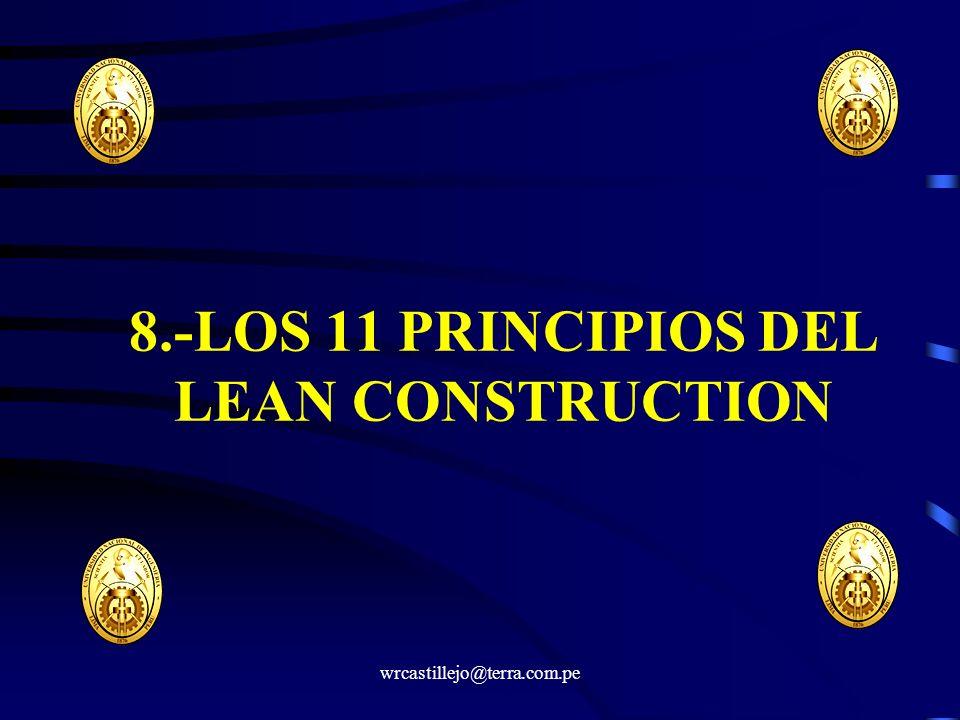 8.-LOS 11 PRINCIPIOS DEL LEAN CONSTRUCTION
