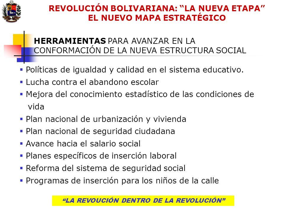 LA REVOLUCIÓN DENTRO DE LA REVOLUCIÓNLA REVOUCIÓN DENTRO DE LA REVOLUCIÓN HERRAMIENTAS PARA AVANZAR EN LA CONFORMACIÓN DE LA NUEVA ESTRUCTURA SOCIAL P