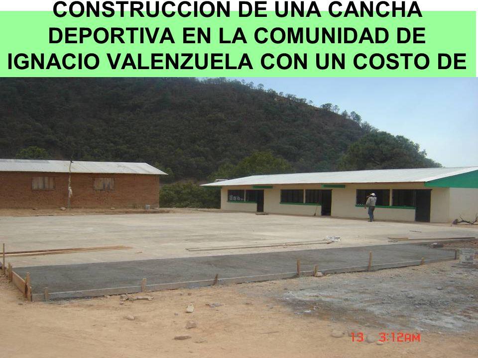 MUCHAS GRACIAS PRESIDENTE MUNICIPAL DE CHINIPAS