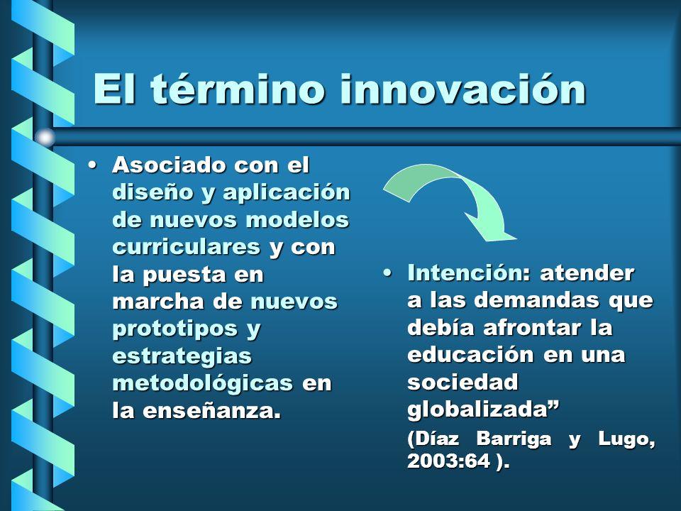 Modelos propuestos en el marco de las innovaciones curriculares de la época Constructivismo psicopedagógicoConstructivismo psicopedagógico Educación basada en competencias