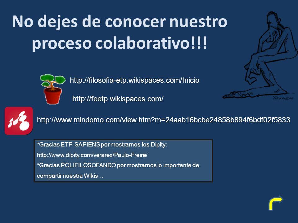 No dejes de conocer nuestro proceso colaborativo!!.