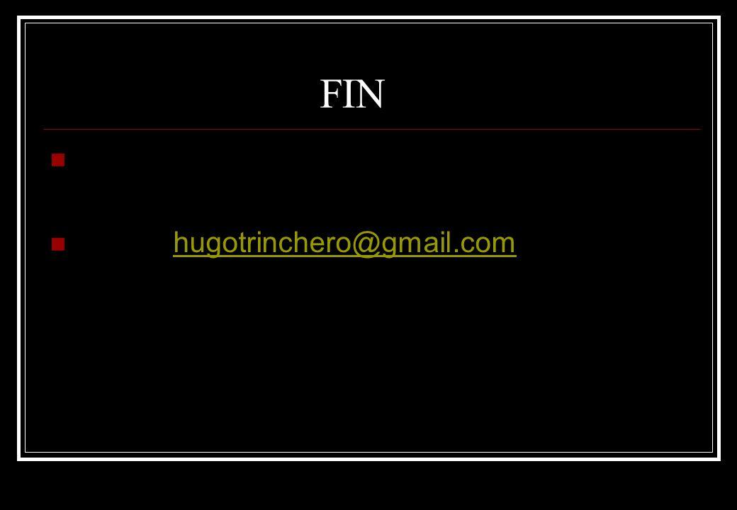 FIN hugotrinchero@gmail.com