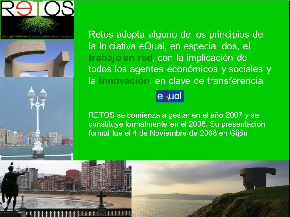 RETOS se comienza a gestar en el año 2007 y se constituye formalmente en el 2008.