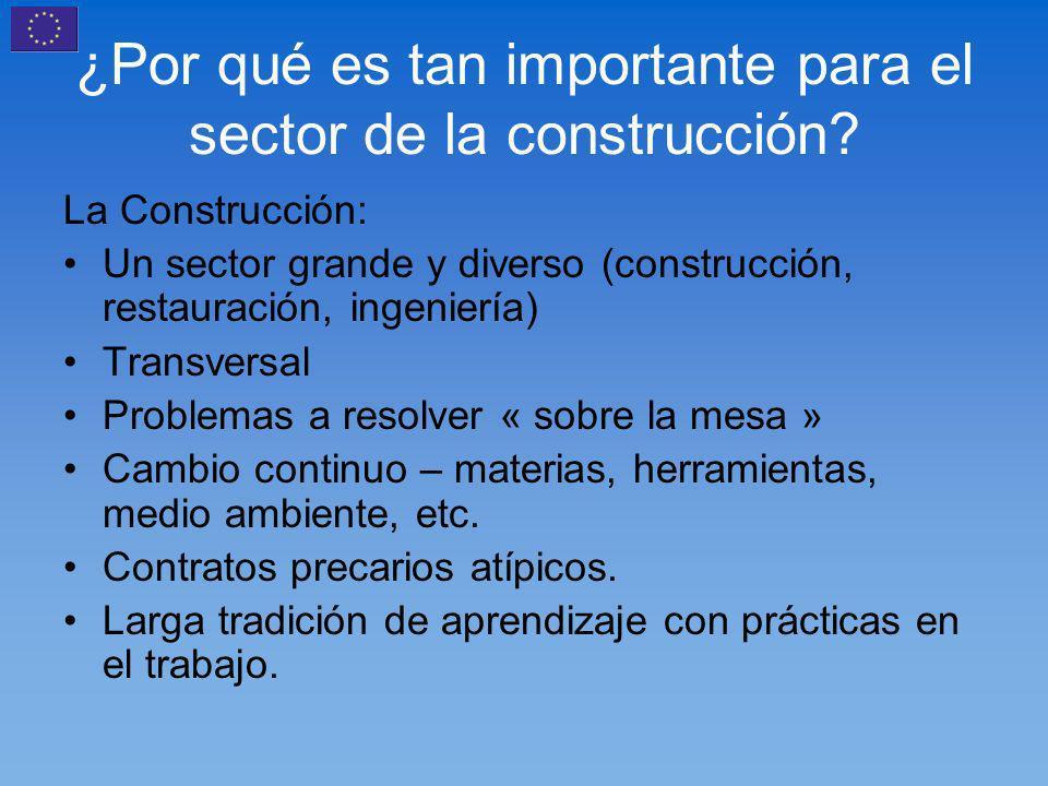 ¿Por qué es tan importante para el sector de la construcción.