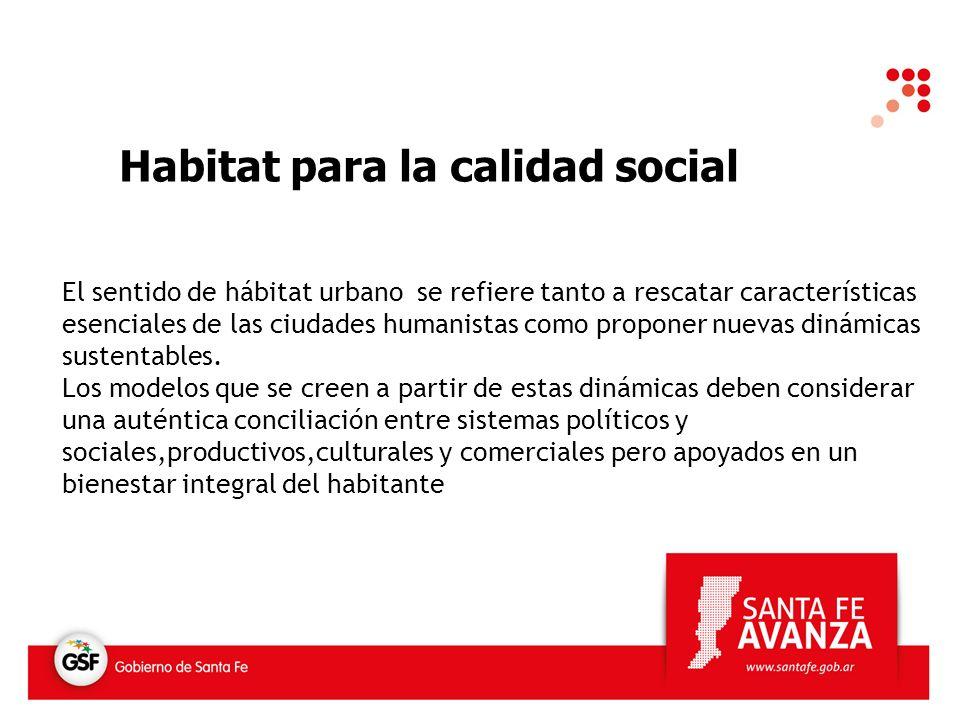 La calidad social podemos definirla como la posibilidad de que los ciudadanos participen en la vida social y económica de sus comunidades bajo condiciones que aumenten su bienestar y potencial individual.