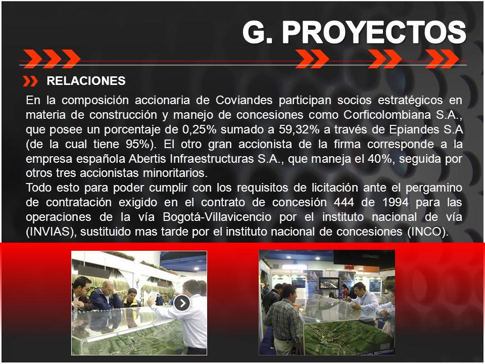 RELACIONES En la composición accionaria de Coviandes participan socios estratégicos en materia de construcción y manejo de concesiones como Corficolom