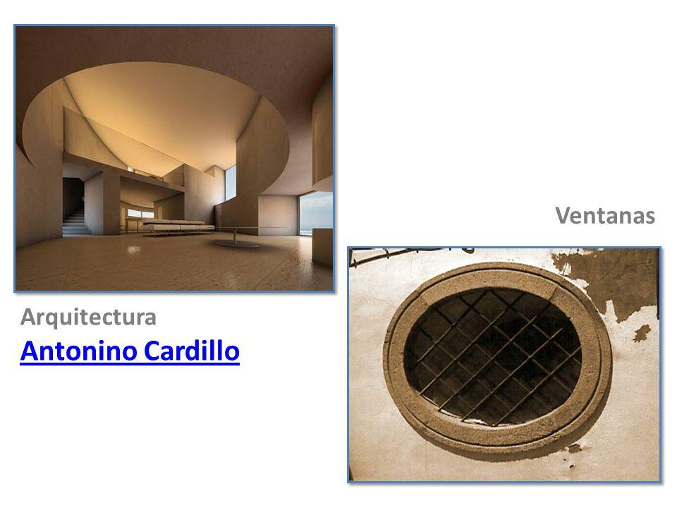 Arquitectura Antonino Cardillo Ventanas