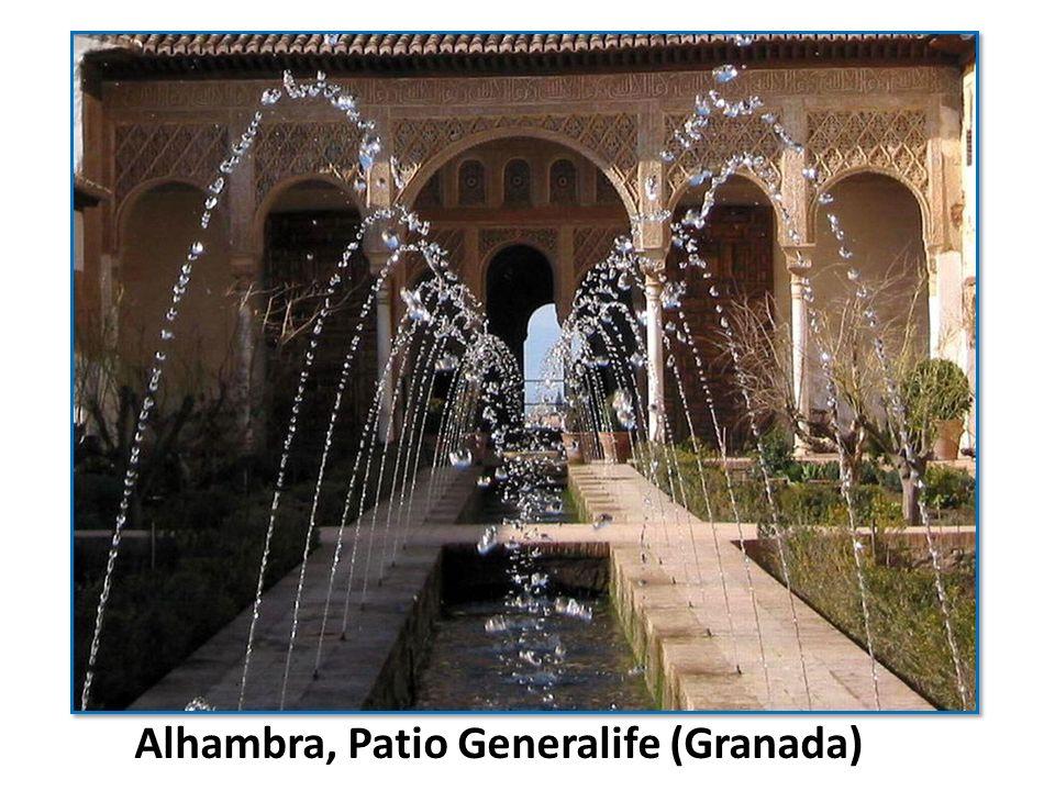 Alhambra, Patio Generalife (Granada)