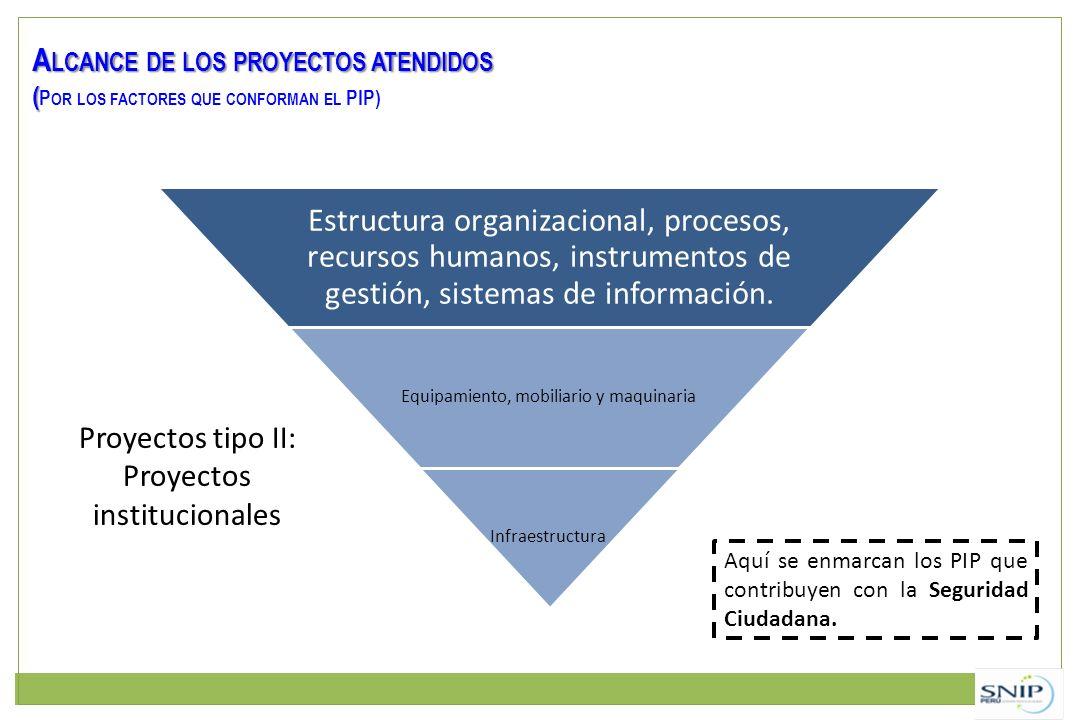 Estructura organizacional, procesos, recursos humanos, instrumentos de gestión, sistemas de información. Equipamiento, mobiliario y maquinaria Infraes