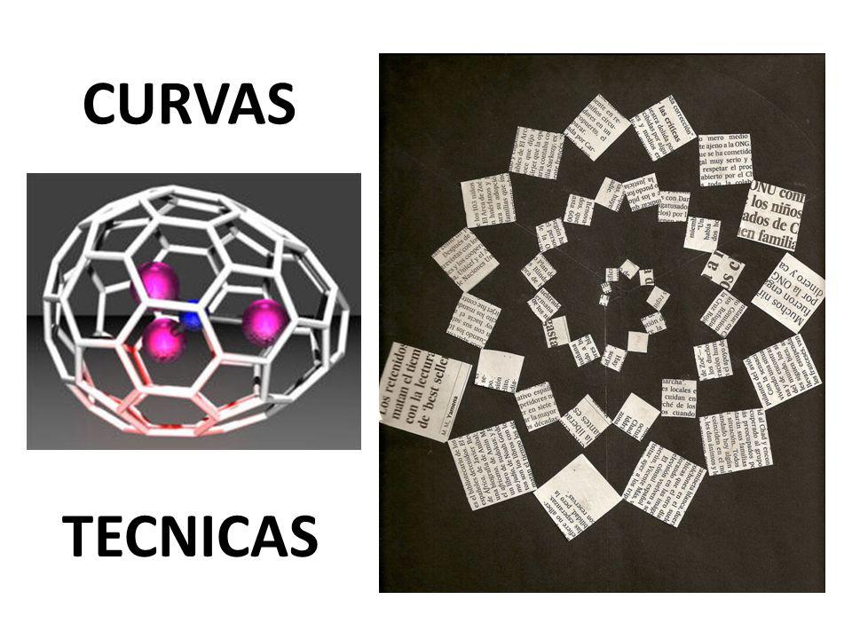 Curvas Técnicas MOTIVO CENTRAL DEL ESTAMPADO GEOMÉTRICO DE UN TAPIZ