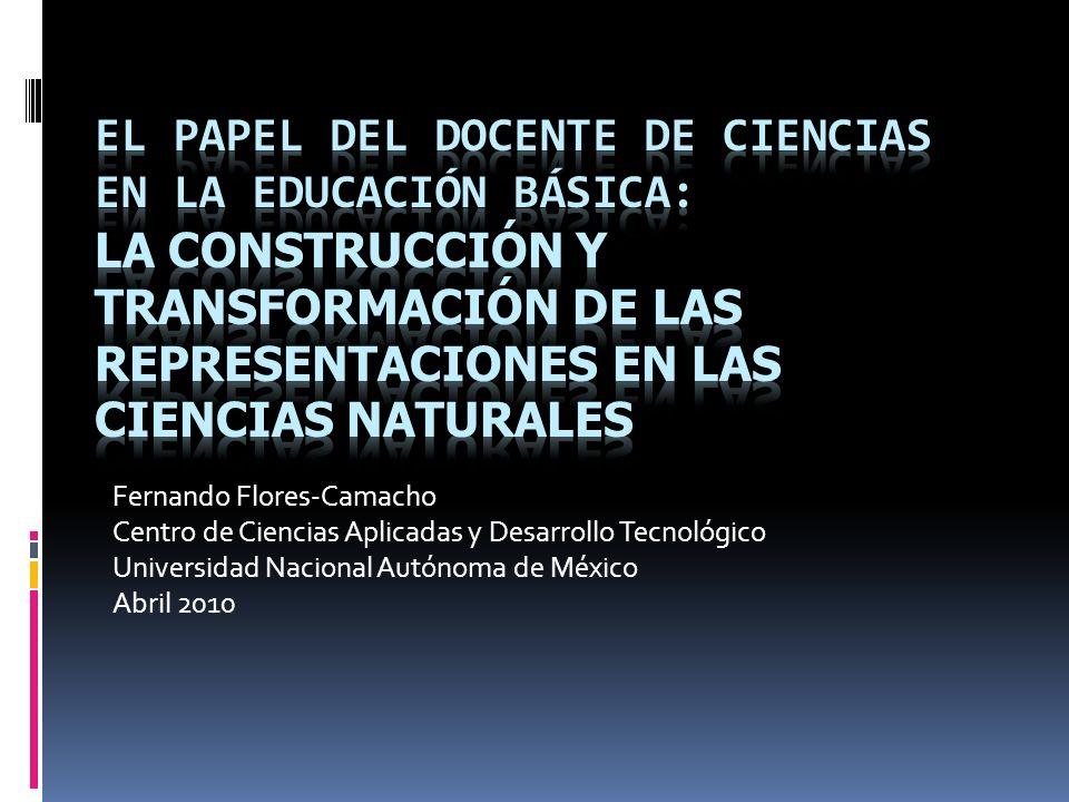 Fernando Flores-Camacho Centro de Ciencias Aplicadas y Desarrollo Tecnológico Universidad Nacional Autónoma de México Abril 2010