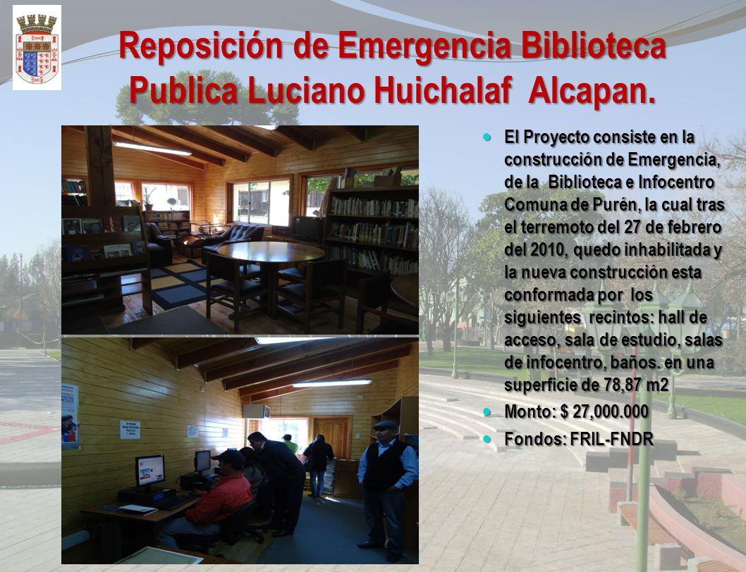 Ampliación Sala de Exposiciones Museo Fuerte Purén El Proyecto consiste en la ampliación de la Sala de Exposiciones Museo Fuerte Purén, en estructura