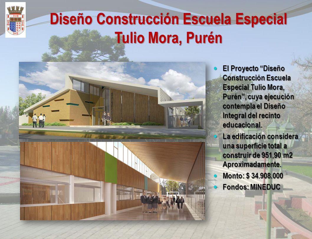 Construcción y Adecuación Liceo Bicentenario Excelencia Indómito de Purén El Proyecto Construcción y Adecuación Liceo Bicentenario Excelencia Indómito