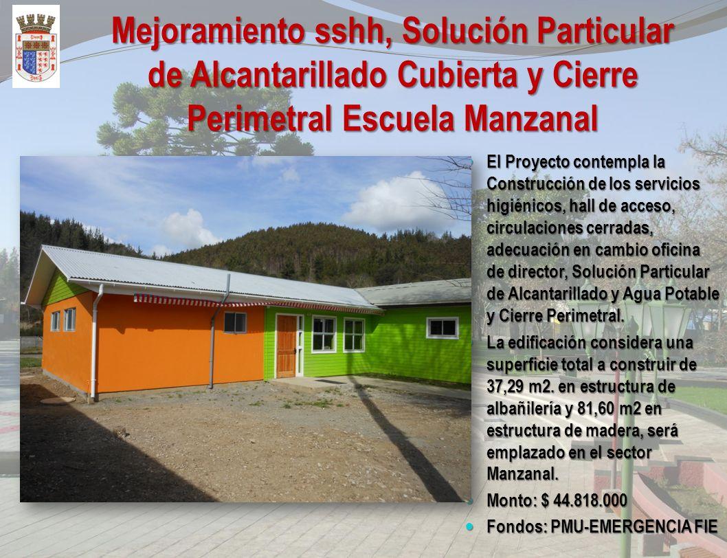 Diseño Construcción Escuela Especial Tulio Mora, Purén El Proyecto Diseño Construcción Escuela Especial Tulio Mora, Purén, cuya ejecución contempla el