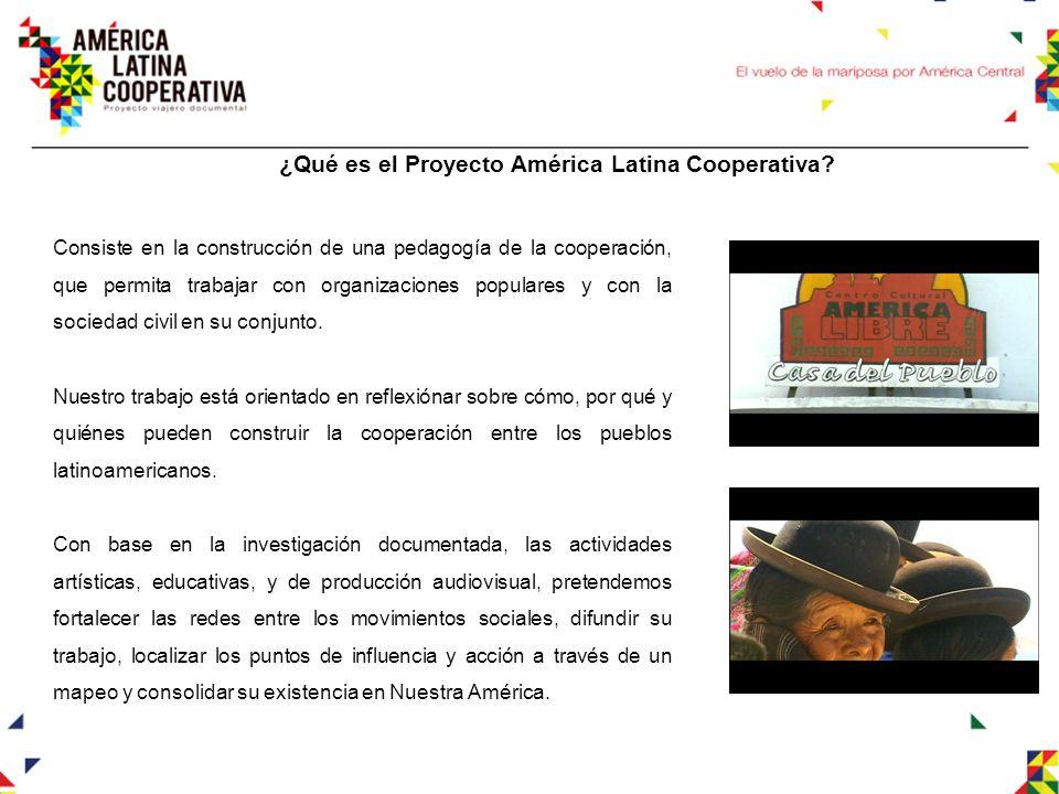 ¿Qué es el Proyecto América Latina Cooperativa.