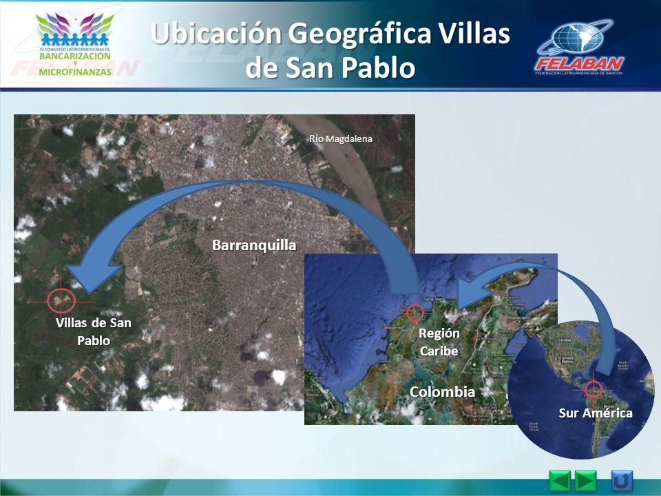Barranquilla Villas de San Pablo Río Magdalena Colombia Región Caribe Sur América Ubicación Geográfica Villas de San Pablo