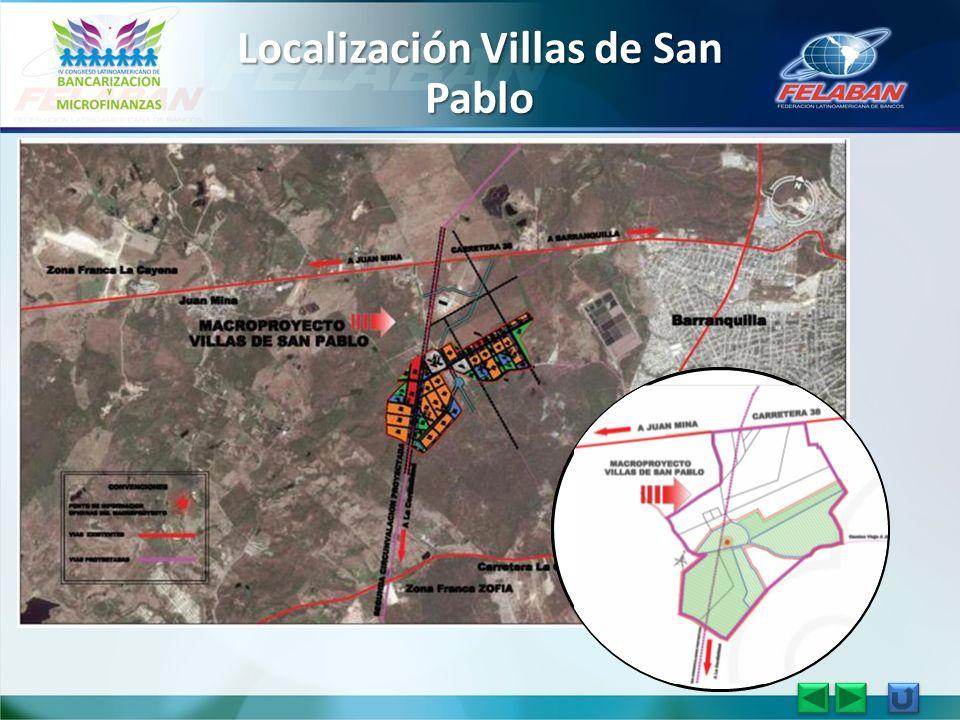 Localización Villas de San Pablo