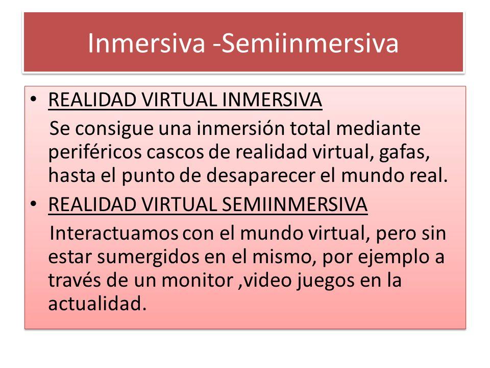 Inmersiva-Semiinmersiva