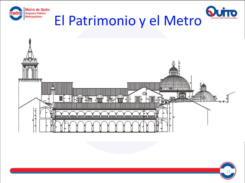 El Patrimonio y el Metro 12