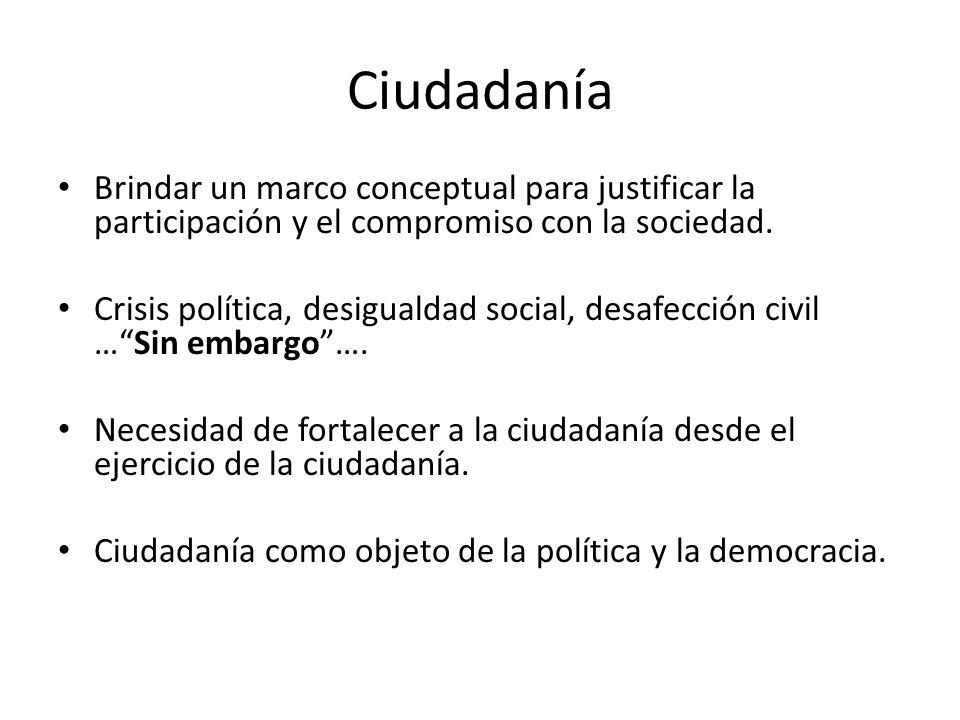 Consejo Consultivo Nacional de Políticas Sociales Objetivo: lograr inclusión social.