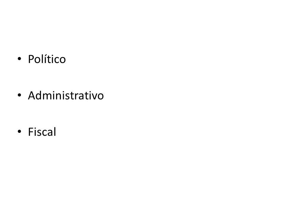 Político Administrativo Fiscal