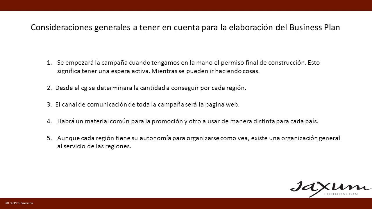 Posibles actividades complementarias a realizar para los donantes medianos y pequeños Convivencias especiales para explicar el proyecto.