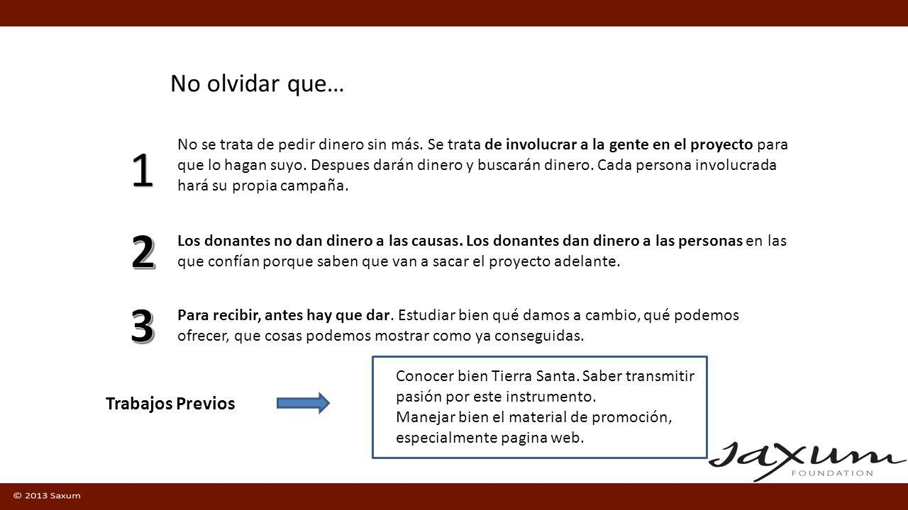 7.Comunicación con los donantes 1.Cada donativo hay que agradecerlo, por pequeño que sea.