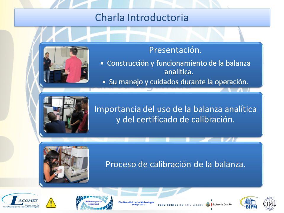 Presentación. Construcción y funcionamiento de la balanza analítica.