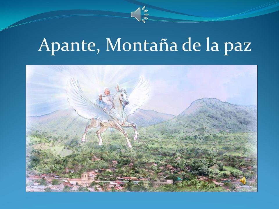 Apante, Montaña de la paz
