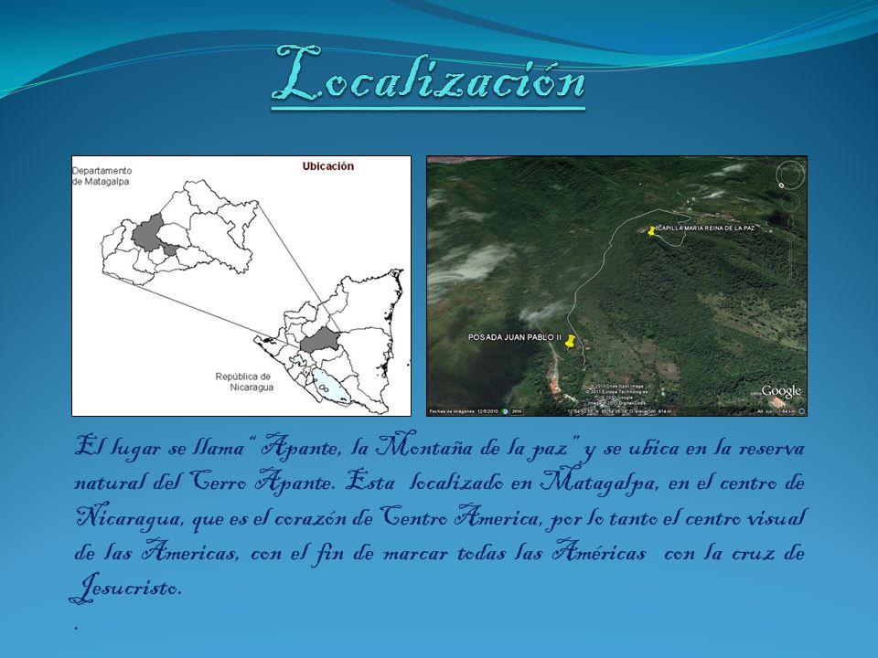 El lugar se llama Apante, la Montaña de la paz y se ubica en la reserva natural del Cerro Apante.