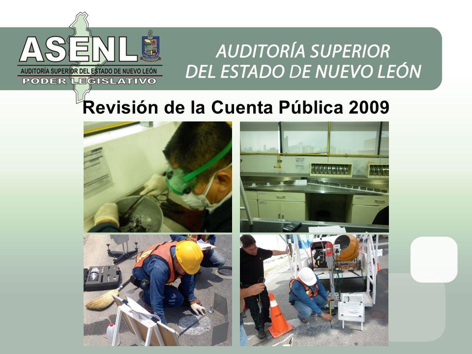 Revisión de la Cuenta Pública 2009