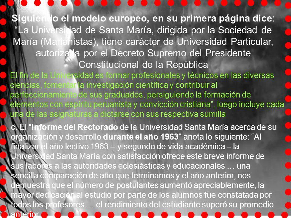 Entre las efemérides de trascendencia se indica que el ilustre sicólogo peruano, Dr. Honorio Delgado, fue distinguido catedrático honorario de la Facu