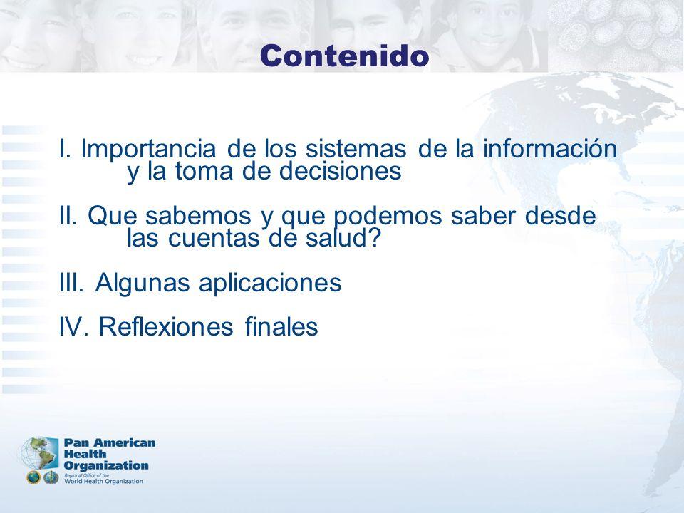I. Importancia de los sistemas de la información y la toma de decisiones