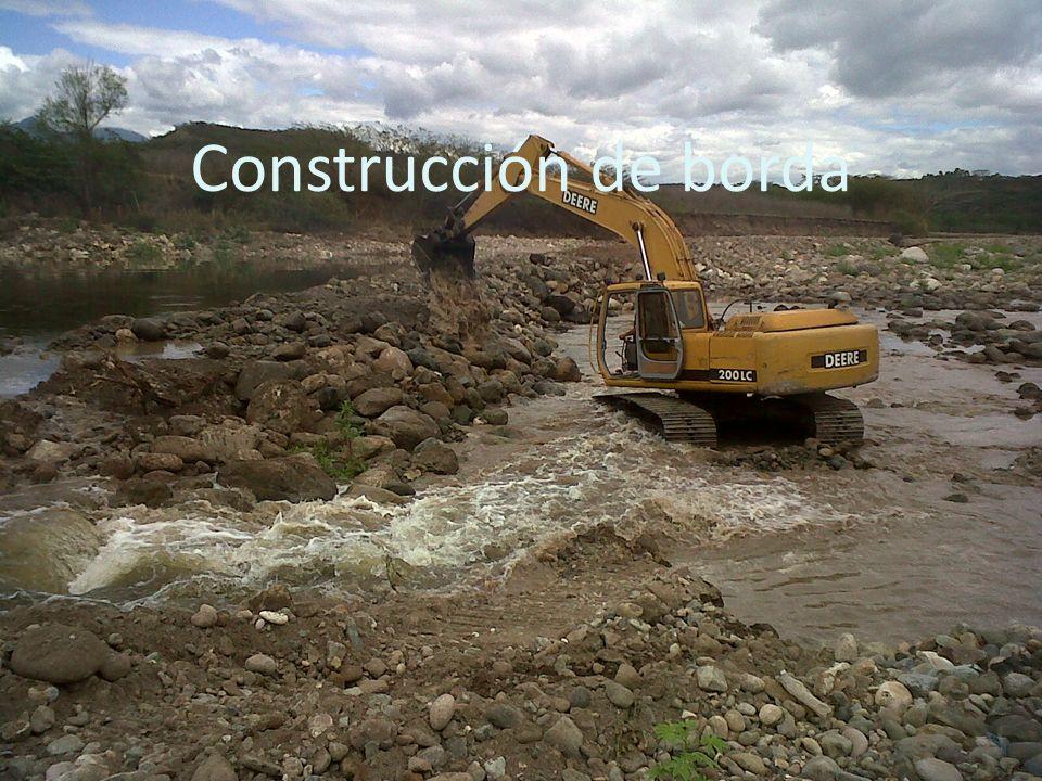 Construcción de borda