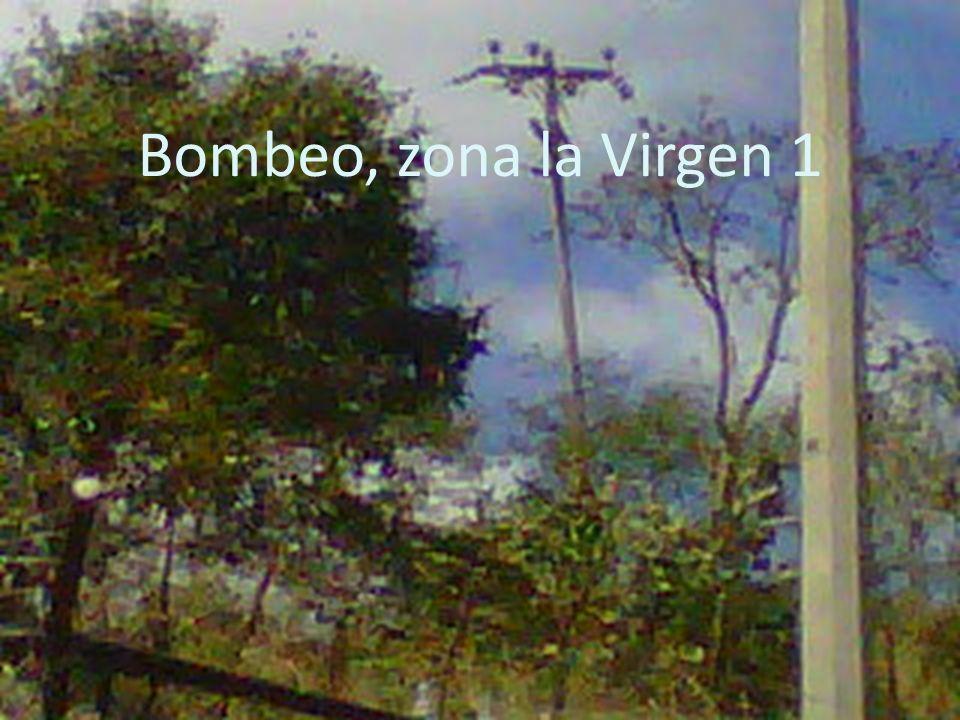 Bombeo, zona la Virgen 1