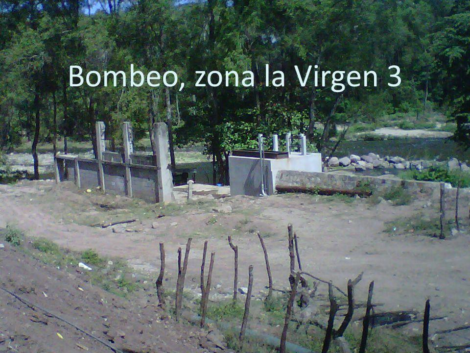 Bombeo, zona la Virgen 3