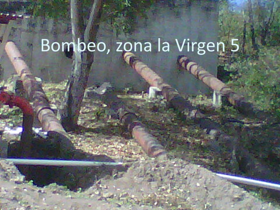 Bombeo, zona la Virgen 5