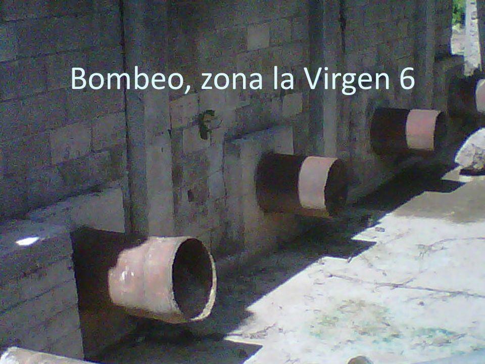 Bombeo, zona la Virgen 6