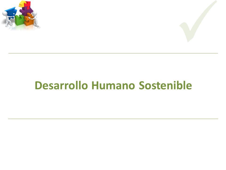 Desarrollo Humano Sostenible CODICITI