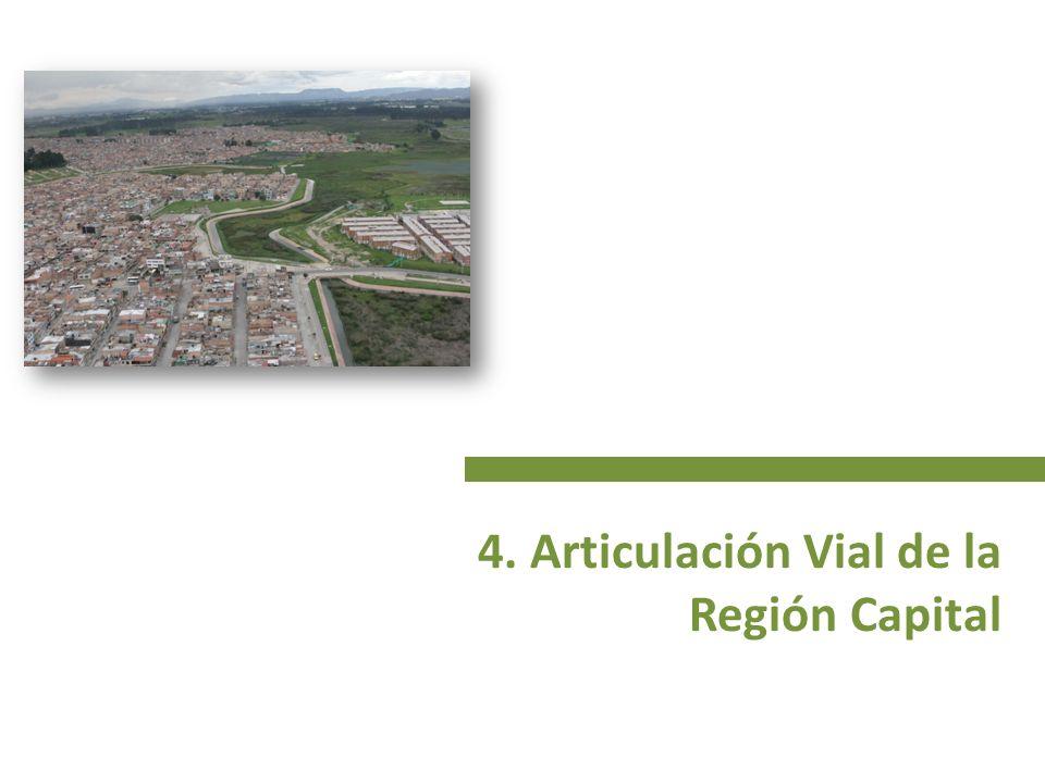 4. Articulación Vial de la Región Capital