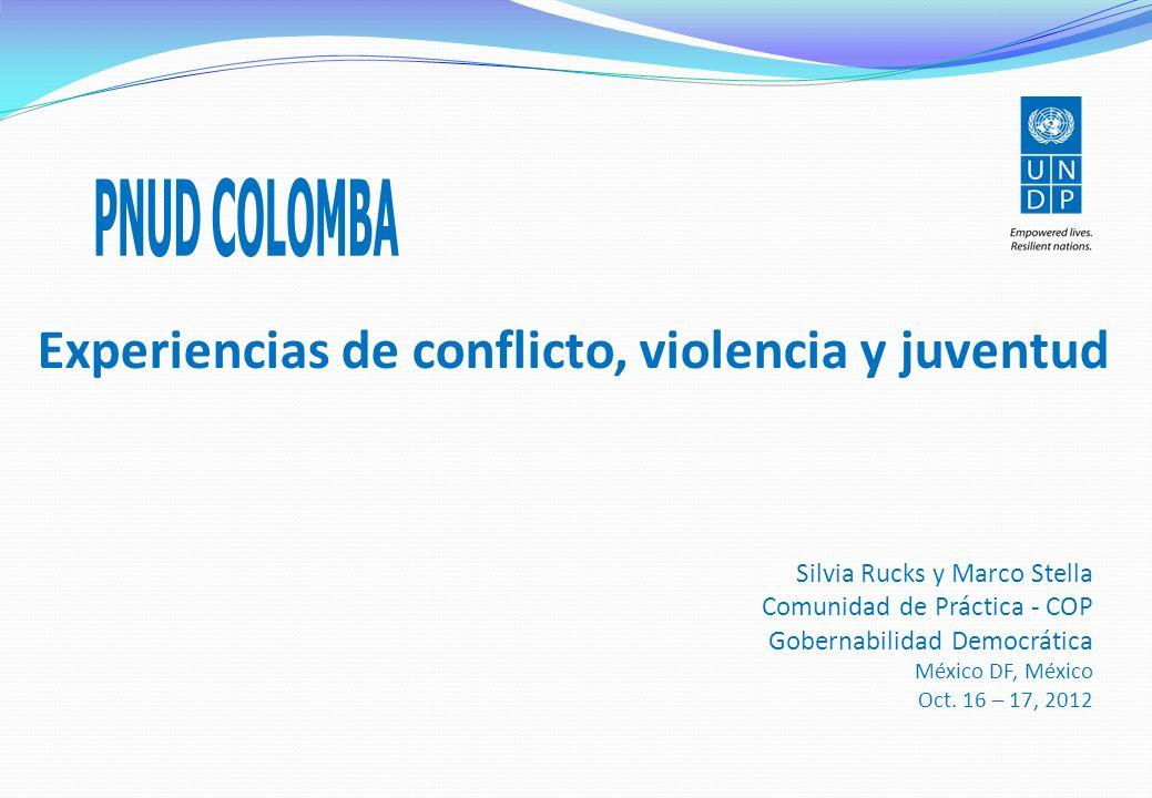 Experiencias de conflicto, violencia y juventud 1.