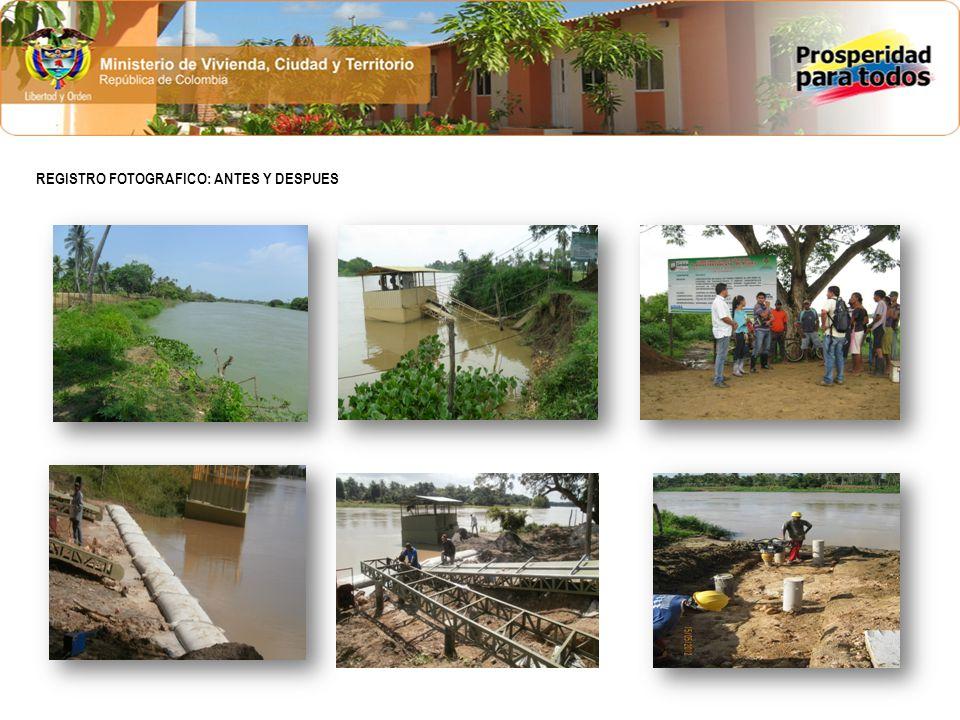 1.Coordenadas Georeferenciales: 1.128.184 (X) : 1.461.915 (Y) 2.Objeto del Contrato: Reconstrucción del sistema de tratamiento de aguas residuales de la margen Izquierda de la Ciudad de Montería, departamento de Córdoba.