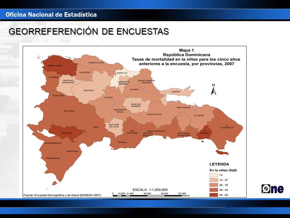 GEORREFERENCIÓN DE ENCUESTAS