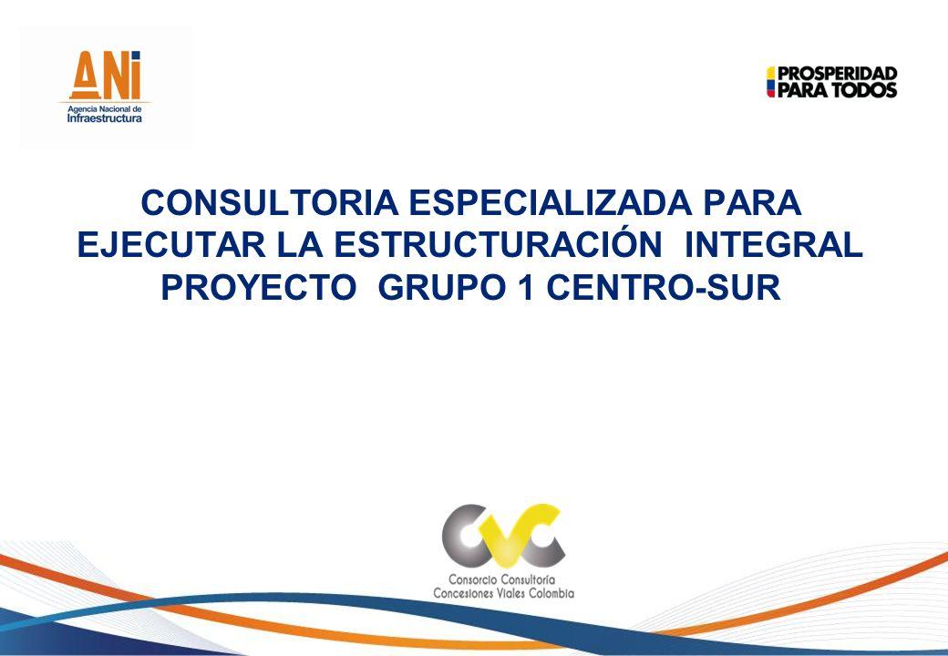 El proyecto prevé la construcción de vías nuevas y segundas calzadas, mejoramiento y rehabilitación de vías, mantenimiento y operación.