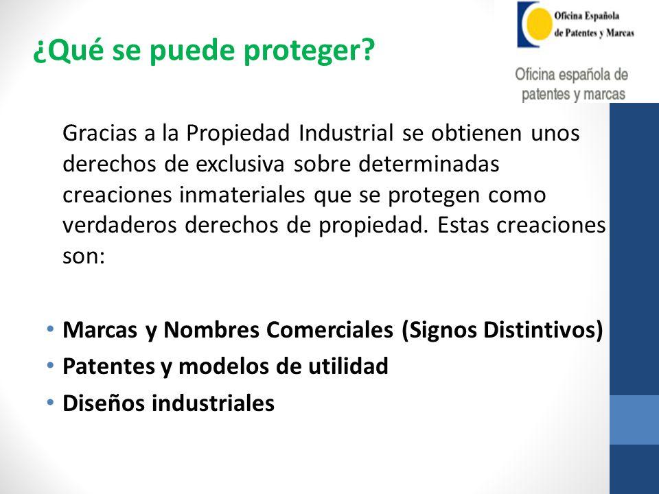 Gracias a la Propiedad Industrial se obtienen unos derechos de exclusiva sobre determinadas creaciones inmateriales que se protegen como verdaderos de