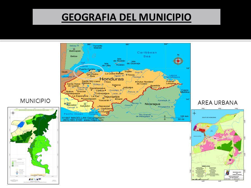 GEOGRAFIA DEL MUNICIPIO MUNICIPIO AREA URBANA
